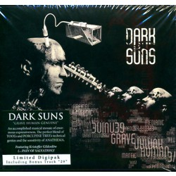 Dark Suns - Grave Human Genuine LTD Edition - CD DIGIPACK
