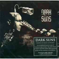 Dark Suns - Grave human genuine - CD