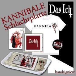 Das Ich - Kannibale - CD EP + T-SHIRT (Men)