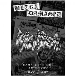 Dayal Patterson - Ultra Damaged : Damage Inc. Zine Anthology 1985-2017 - BOOK