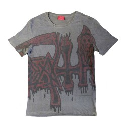 Death - Large Logo - Red - T-shirt (Men)