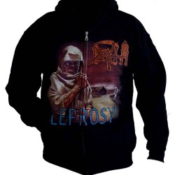 Death - Leprosy - HOODED SWEAT SHIRT (Men)