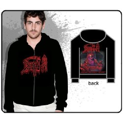 Death - Scream Bloody Gore - Hooded Sweat Shirt Zip (Men)