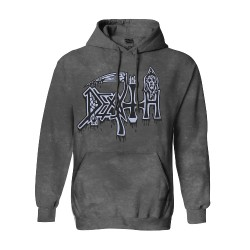 Death - Spiritual Healing - Vintage Wash - HOODED SWEAT SHIRT (Men)