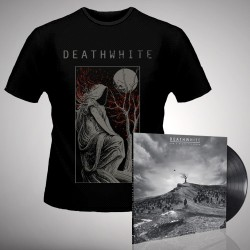 Deathwhite - For A Black Tomorrow - LP gatefold + T-shirt bundle (Men)