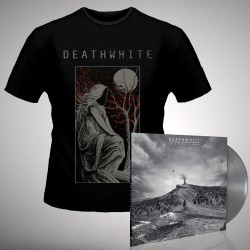 Deathwhite - For A Black Tomorrow - LP gatefold coloured + T-shirt bundle (Men)