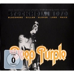 Deep Purple - Live In Stockholm 1970 - 2CD + DVD digipak