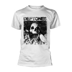 Deftones - Skull (White) - T-shirt (Men)