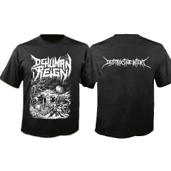 Dehuman Reign - Destructive Intent - T-shirt