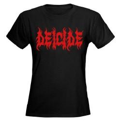 Deicide - Logo - T shirt girlie