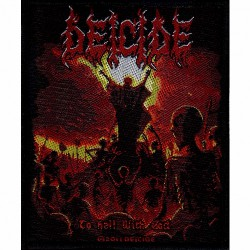 Deicide - To Hell With God - Patch