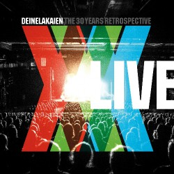 Deine Lakaien - The 30 Years Retrospective Live - 2CD + DVD DIGIBOOK