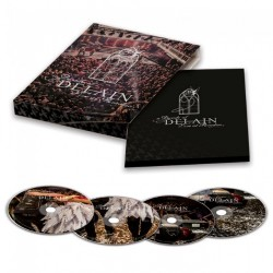 Delain - A Decade Of Delain - Live At Paradiso - 2CD + DVD + BLU-RAY DIGIPAK