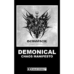 Demonical - Chaos Manifesto - CASSETTE