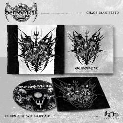 Demonical - Chaos Manifesto - CD DIGIPAK SLIPCASE