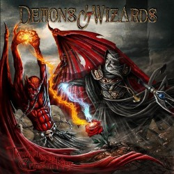 Demons & Wizards - Touched by the Crimson King - DOUBLE LP Gatefold