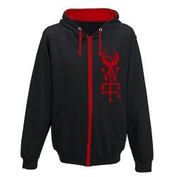 Der Weg Einer Freiheit - Wolfman [red inner hood] - Hooded Sweat Shirt Zip
