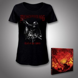Deströyer 666 - Call Of The Wild - CD DIGIPAK + T-shirt bundle (Women)