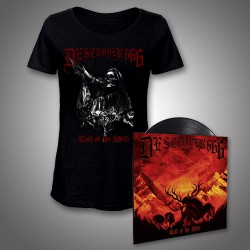 Deströyer 666 - Call Of The Wild - Mini LP + T-shirt bundle (Women)