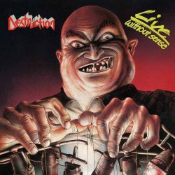 Destruction - Live Without Sense - LP + 7""