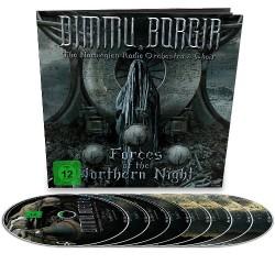 Dimmu Borgir - Forces Of The Northern Night - 4CD + 2 Blu-ray + 2 DVD earbook