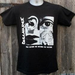 Discharge - Hear nothing - T-shirt