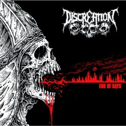 Discreation - End Of Days - CD