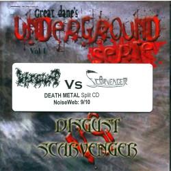 Disgust vs. Scarvenger - Underground serie Vol 1 - CD