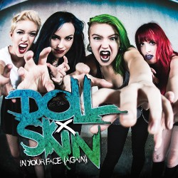 Doll Skin - In Your Face (Again) - CD