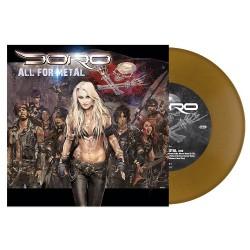 """Doro - All For Metal - 7"""" vinyl coloured"""