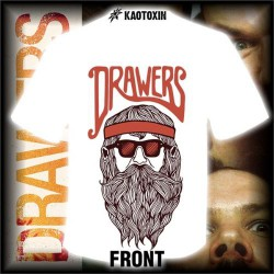 Drawers - Beard Metal - T shirt girlie