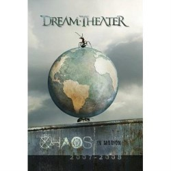 Dream Theater - Chaos In Motion 2007-2008 - DOUBLE DVD