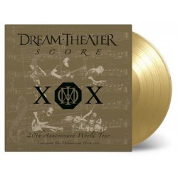 Dream Theater - Score: 20th Anniversary World Tour - 4LP Gatefold