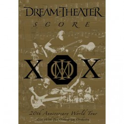 Dream Theater - Score: 20th Anniversary World Tour - DOUBLE DVD