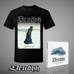 Drudkh - A Few Lines In Archaic Ukrainian - CD Digipack + Backpatch + T-shirt bundle (Men)