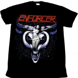Enforcer - Cow Girl Skull - T-shirt