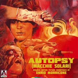 Ennio Morricone - Autopsy (Macchie Solari) Original Motion Picture Soundtrack - DOUBLE LP Gatefold