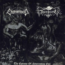 "Enshadowed - Vulturine - The Epitome Of Neverending Evil - 7"" EP Gatefold"