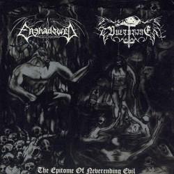 """Enshadowed - Vulturine - The Epitome Of Neverending Evil - 7"""" EP Gatefold"""