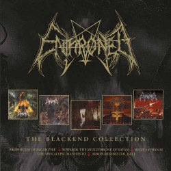Enthroned - Blackend Years - 4CD