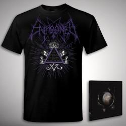 Enthroned - Bundle 2 - CD DIGIPAK + T-shirt bundle (Men)