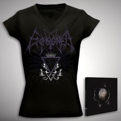 Enthroned - Bundle 3 - CD DIGIPAK + T-shirt bundle (Women)