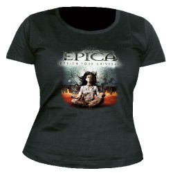 Epica - Design Your Universe - T shirt girlie