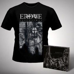 Erdve - Vaitojimas - CD DIGIPAK + T-shirt bundle (Men)