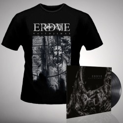 Erdve - Vaitojimas - LP + T-Shirt bundle (Men)