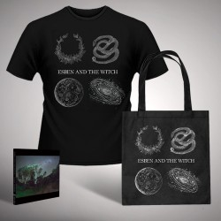 Esben And The Witch - Bundle 8 - CD Digisleeve + tote bag + T-shirt