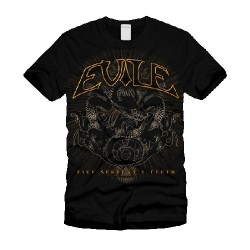 Evile - Five Serpent's Teeth - T-shirt (Men)