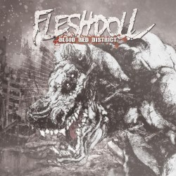 Fleshdoll - Blood Red District - CD DIGIPAK