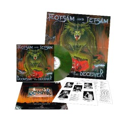 Flotsam And Jetsam - Doomsday For The Deceiver - LP COLOURED