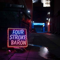Four Stroke Baron - Planet Silver Screen - CD